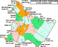 Map of Westmoreland County Pennsylvania School Districts.png