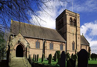 St John the Evangelists Church, Norley Church in Cheshire, England
