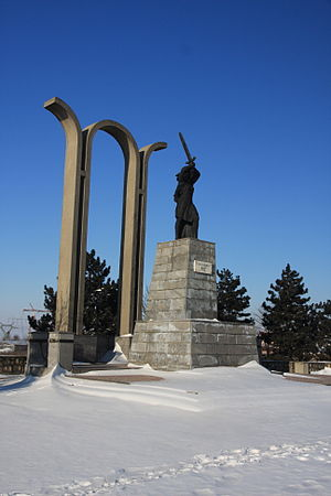 Battle of Mărășești - Image: Marasesti Monument