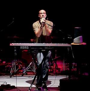 Marc Cohn - Marc Cohn performing in Saratoga, New York in July 2005