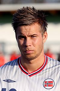 Marcus Pedersen (Vitesse Arnhem) - Norway national under-21 football team (01).jpg