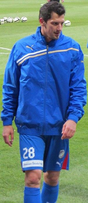 Marián Čišovský - Čišovský with Viktoria Plzeň in 2013