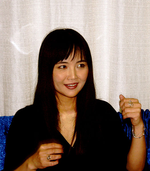 File:Mari Iijima at Tekkoshocon 5 talking cropped 1.jpg