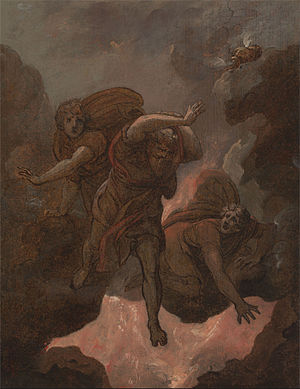 The Judgement of Korah, Dathan and Abiram