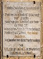 Maria Saal Pfarrkirche Mariae Himmelfahrt Grabinschirift Magdalena Schulerin 30092016 4673.jpg