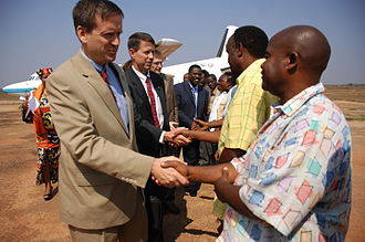 Mark Andrew Green - Green meeting with Tanzanian ministers