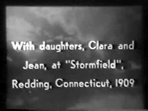 File:Mark Twain at Stormfield (1909).webm