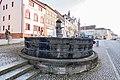 Marktplatz, Brunnen Geisa 20180302 003.jpg