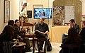Markus Heitz press conference - Lucca Comics & Games 2014.JPG
