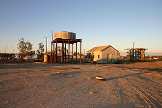 The Inbetweeners 2 - Image: Marree water tower