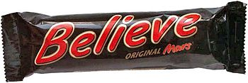 Mars Believe Bar Limited Edition Football Worl...