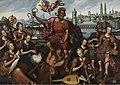 Mars omringd door de Kunsten en Wetenschappen, overwint de Onwetendheid, 1605, Groeningemuseum, 0040044000.jpg