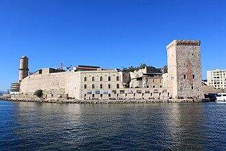 Bouches-du-Rhône - Image: Marseille Fort Saint Jean 16