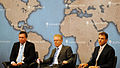 Martin Chulov, David Butter, Bill Neely - Chatham House 2012.jpg