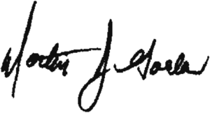 Martin Golden - Image: Marty Golden signature