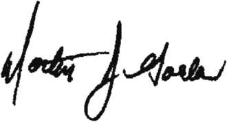 Martin Golden - Image: Marty Golden signature