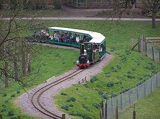 Marwell Zoo - Marwell Wildlife Railway