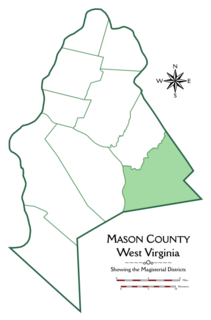 Union District, Mason County, West Virginia Magisterial district in West Virginia, United States