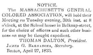 Massachusetts General Colored Association