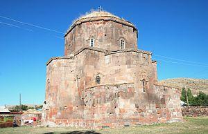 Church of Saint John, Mastara - Image: Mastara,church SE