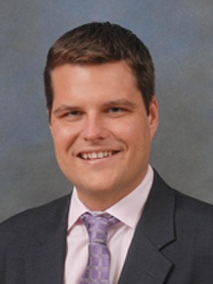 United States congressional delegations from Florida - Image: Matt Gaetz