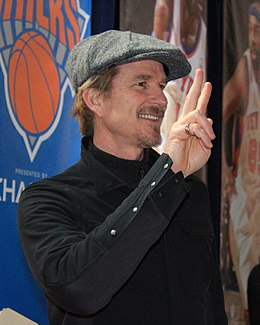 Matthew Modine at the NY Knicks vs Miami Heat game (May 2012).jpg