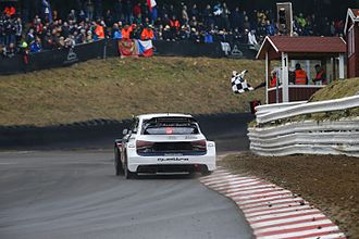 2017 World RX of Germany - Ekström wrapped up the drivers' title with a round to spare