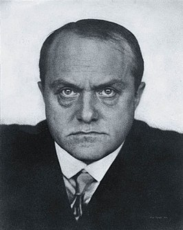 Max Beckmann in 1928, foto Hugo Erfurth