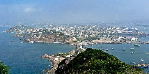 best things to do in mazatlan mexico Mazatlan panorama from El Faro 1