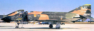 61st Fighter Squadron - McDonnell F-4D-29-MC Phantom Serial 66-0244 of the 61st TFS.