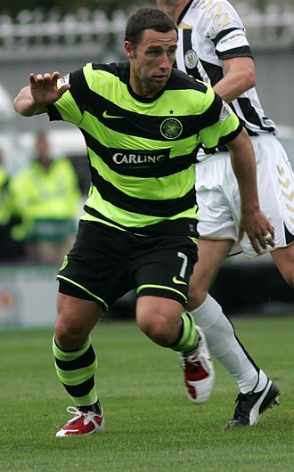 Scott McDonald - McDonald playing for Celtic
