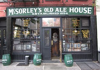 Gerard McSorley - The front of McSorley's