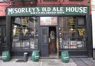 Mcsorley S Old Ale House Wikipedia