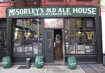 McSorleyu0027s Old Ale House