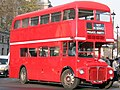 Media Bus Company Routemaster bus RM545 (WLT 545), Westminster station, 9 December 2005.jpg