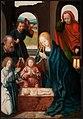 Meester van de Triptiek van Morrison - De aanbidding van de herders - ABM s355 - Museum Catharijneconvent.jpg