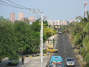 English: Megalópolis Barranquilla-Cartagena Es...