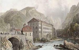 Mehadia - Mehadia in 1835