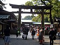 Meiji Jingu - Festa della cultura.JPG