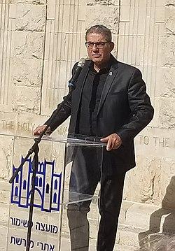 מאיר תורג'מן. בטקס ציון 100 שנה לכיבוש ירושלים (1917)