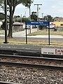 Melrose Park METRA Station Sign 2017.jpg