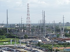 Meralco power substation (NLEX, Bocaue, Bulacan; 2014-10-19).jpg
