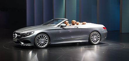 59cf56f950 The S-Class Convertible at the IAA 2015.