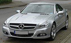 Mercedes SL II.Facelift front.jpg