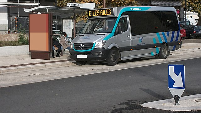 Mercedes Sprinter City Ligne E Cusset Centre 2018-11-08