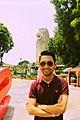 Merlion statue, Sentosa, Singapore - 20140213.jpg