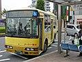 Meto Kanko Bus at Yoshikawa Station.jpg