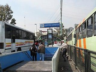 Metro Cuatro Caminos metro station in Mexico City