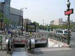 Place d 39 italie metropolitana di parigi wikipedia - Centre commercial porte d aubervilliers ...