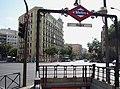 Metro de Madrid - Goya 01.jpg